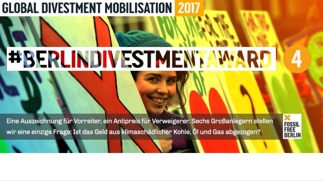 Ev. Landeskirche BerlinBrandenburg-schlesischeOberlausitz gewinnt #BerlinDivestmentAward als Klimafinanz-Vorreiterin https://t.co/7yKOVbqWIA https://t.co/YzV2dsTTva