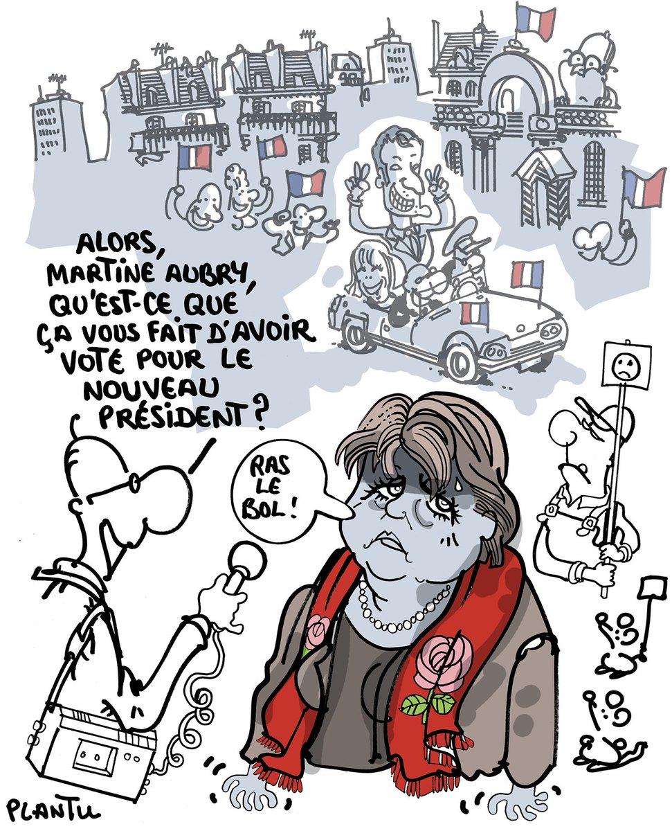 Un PS quelque peu désabusé. Le dessin de L'Express de cette semaine.