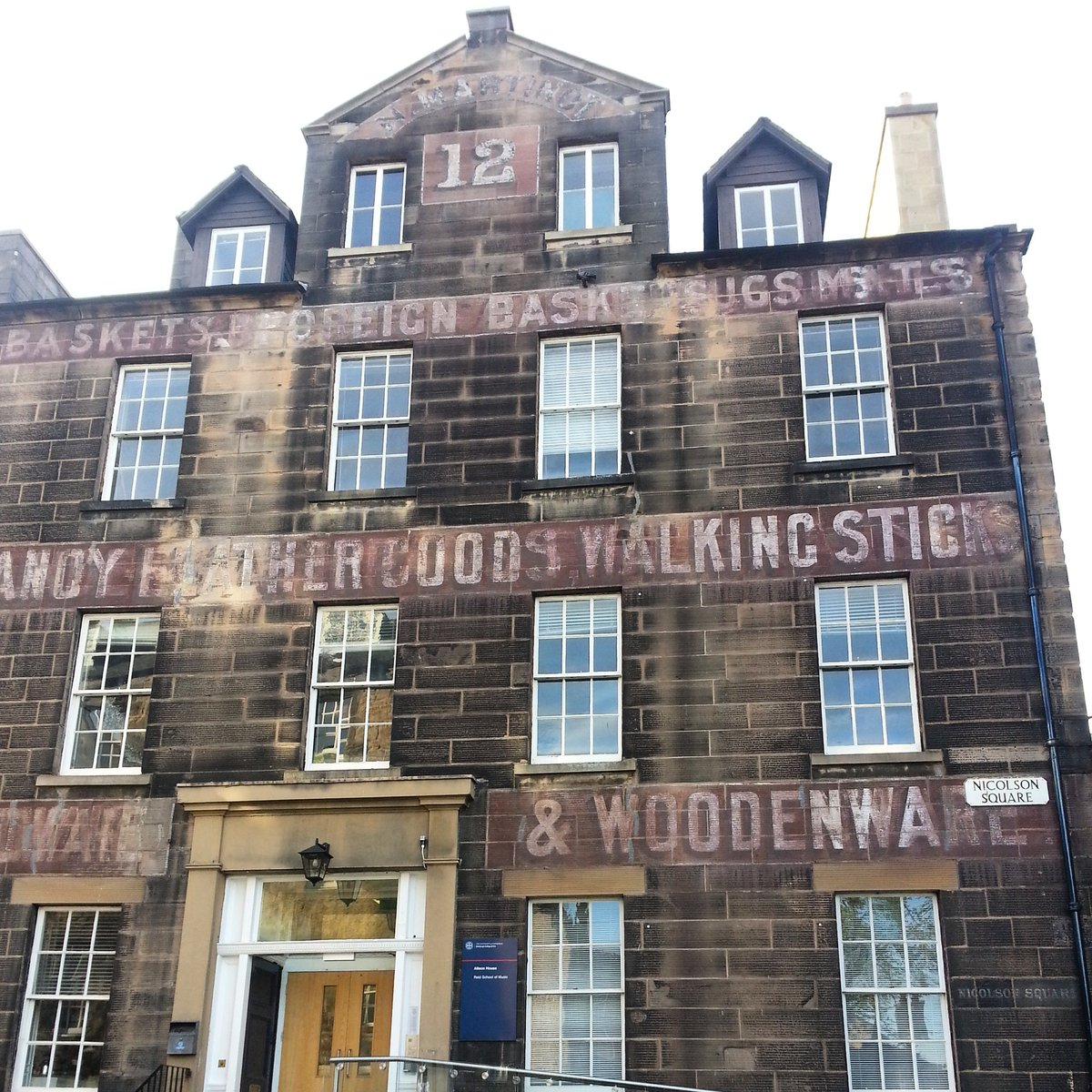 building in Edinburgh