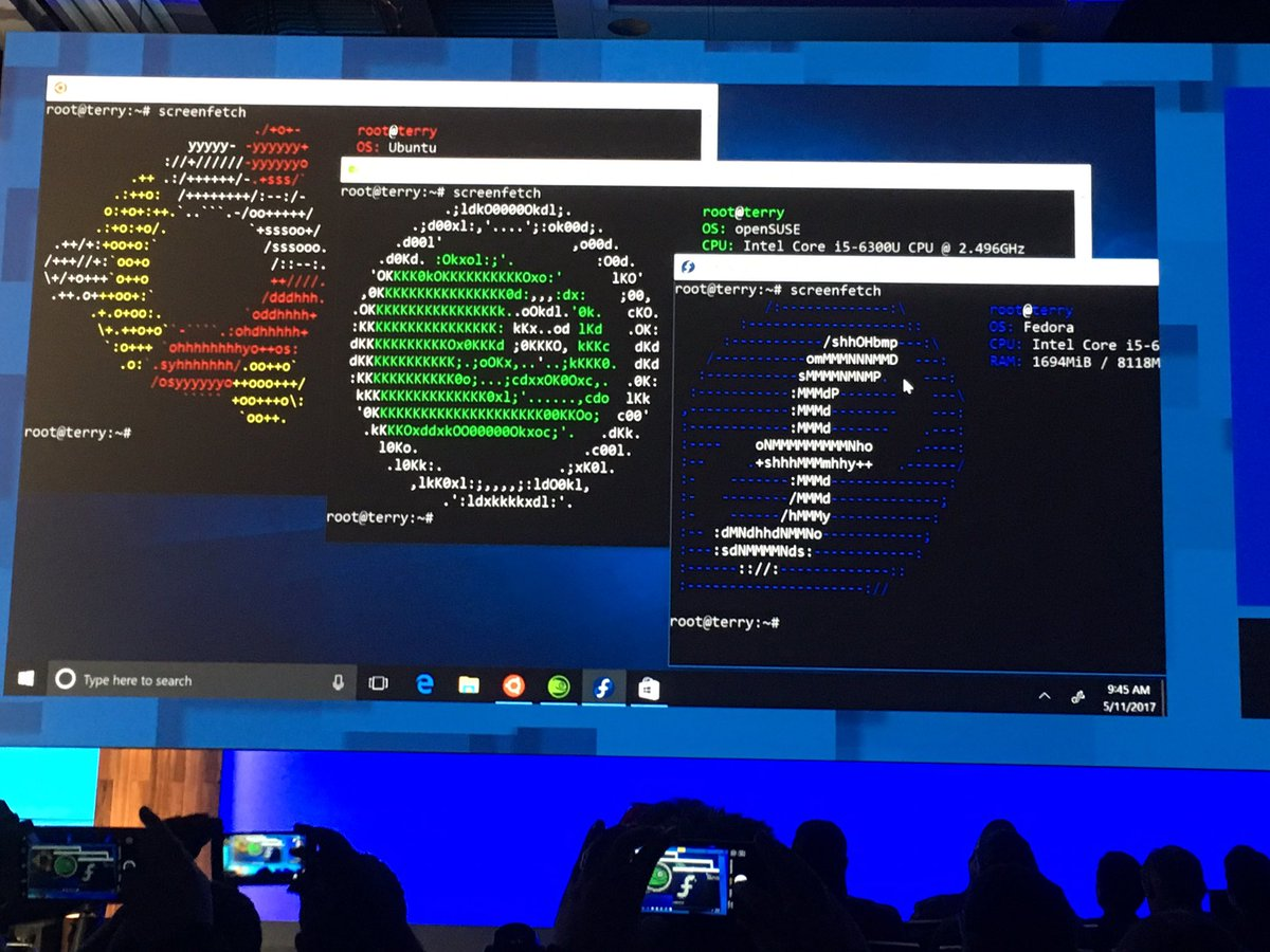 Linux: Two new Linux distributions will be added to Windows
