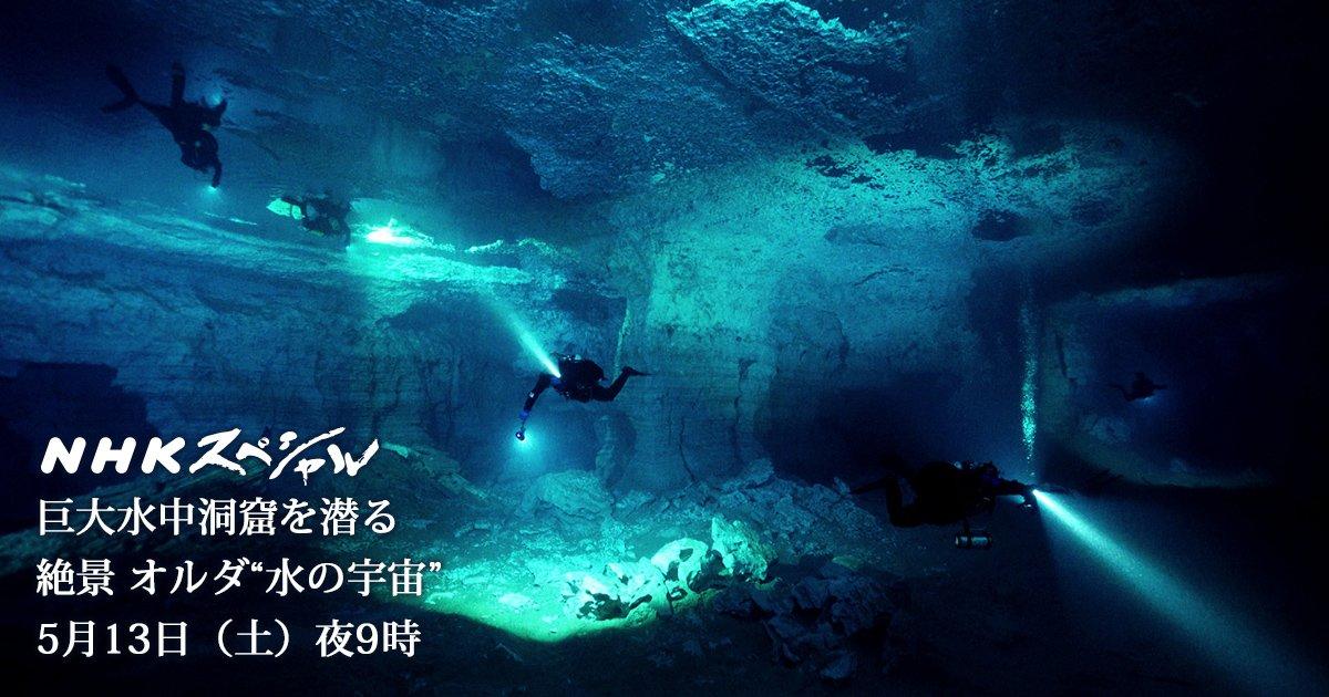 あらゆる潜水の中で最も難しいと言われる、洞窟潜水。 逃げ場のない一本道の洞窟で恐怖と闘いながらの潜水ロケでした。 潜水機材は50キロ以上!膨大な機材を担いで、凍てついた洞窟を何度も往復しました。 https://t.co/qJlFgs4TG6