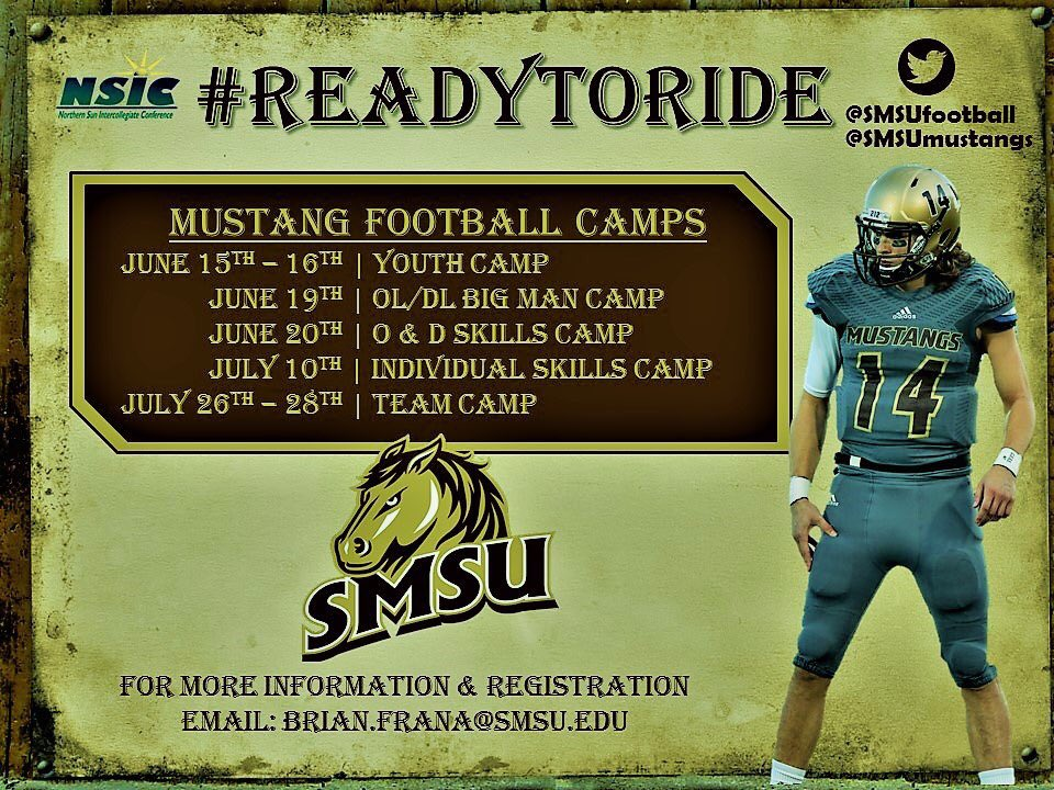 Smsu Football On Twitter Looking For A Chance To Learn And Compete