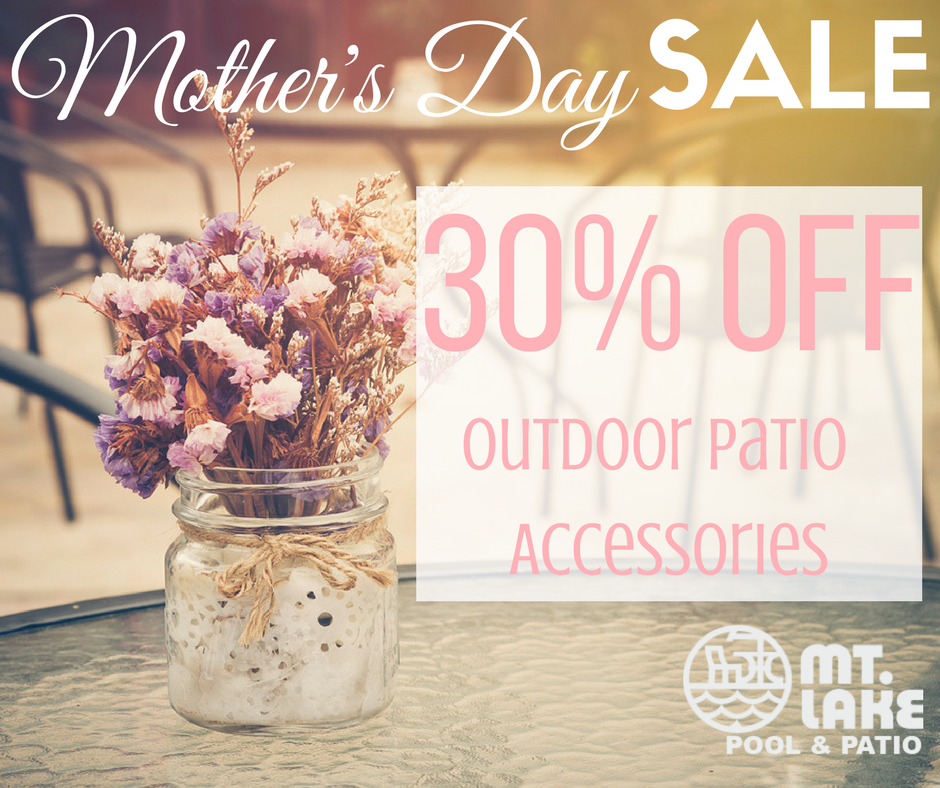 Trendy #outdoorpatio Accessories At Mt. Lake Pool U0026 Patio, Now 30% Off  Thursday Sunday!pic.twitter.com/eFbv4FMaz7