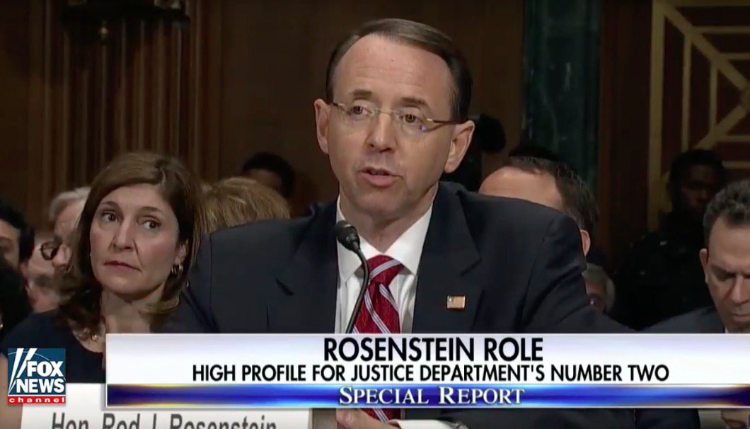 Rod rosenstein came close to resigning after james comey ...