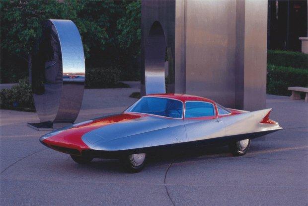 Ghia Steamline X 'Gilda' (1955) http://oldconceptcars.com/1930-2004/ghia-steamline-x-gilda-1955/…