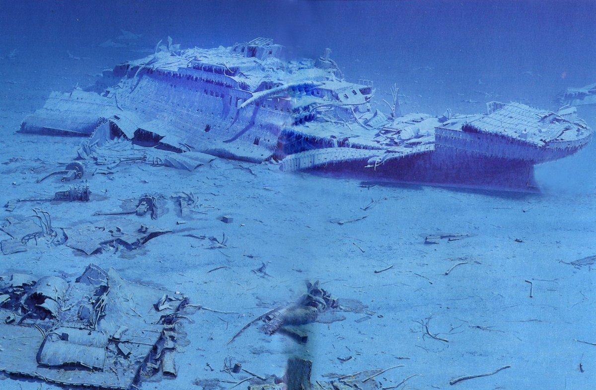 эксплуатации реальные фото затонувшего титаника получился настолько чувственным