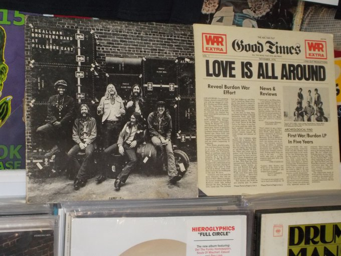 Happy Birthday to the late Butch Trucks of Allman Brothers & Eric Burdon of War (& Animals)