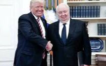 Could it be @POTUS wanted to pose with the Russian spymaster because he thought the photo would be slimming?