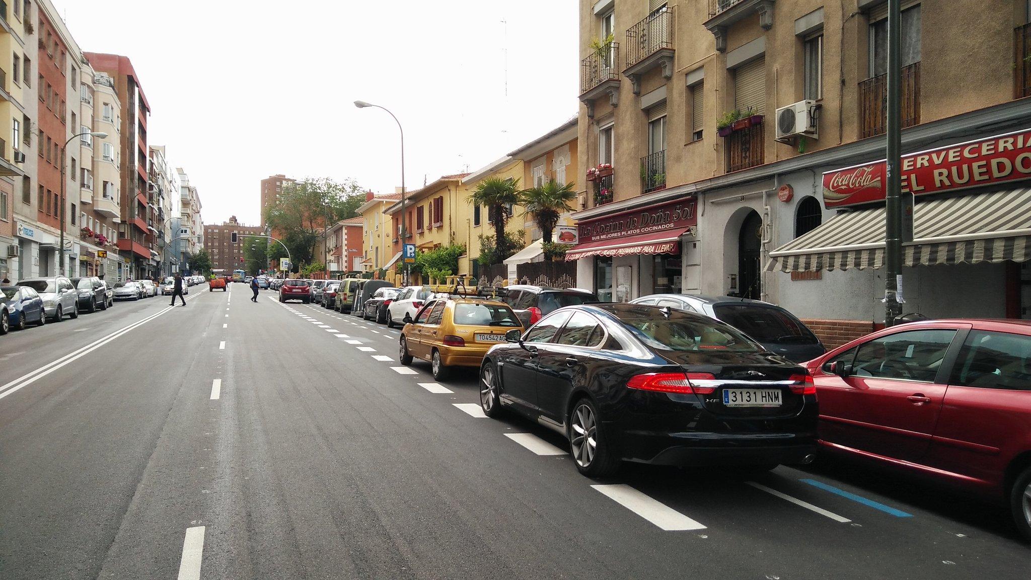 Carril Bici Avenida Toreros
