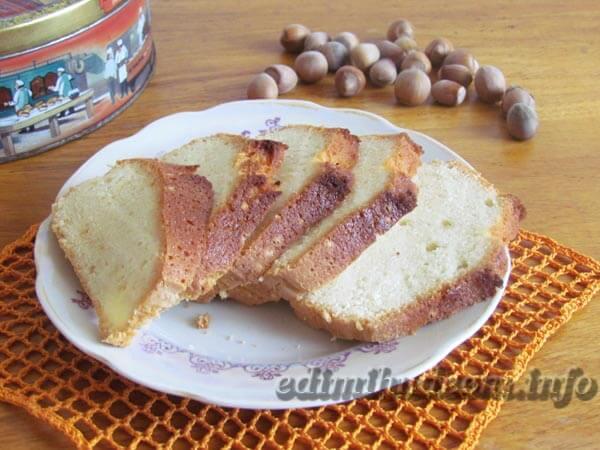 Рецепт кекса с вареньем