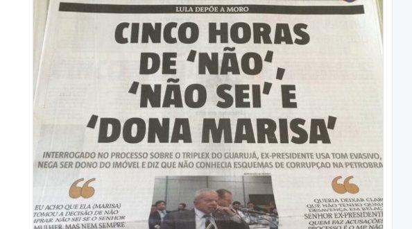 Lula emplaca mais uma nas redes: Foi a Dona Marisa > https://t.co/OB5J3cBjSi