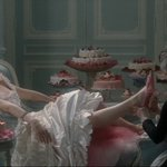 """Let them eat cake.""  Marie Antoinette (2006) dir. Sofia Coppola marie stories"