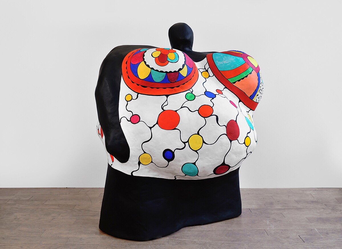 "A modern day Venus - #ArtPampelonne is honored to present ""Nanas"" by  #NikideSaintPhalle courtesy of exhibitor #GalerieMitterrand © <br>http://pic.twitter.com/1TZn7J7Mjx"