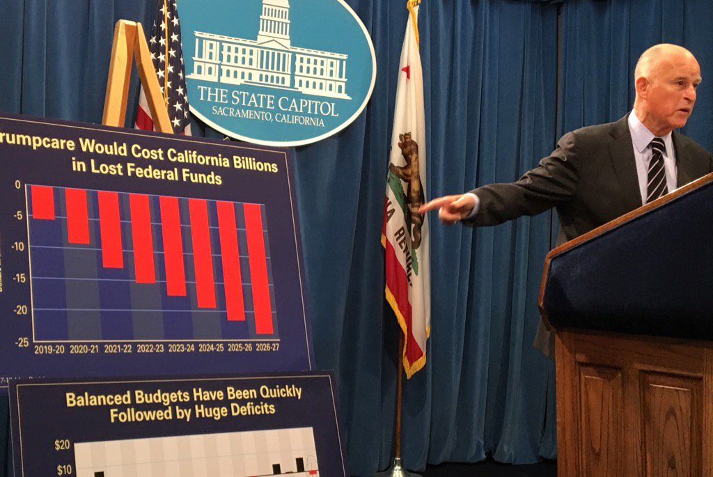 Gov. Brown: Big cuts ahead for California's budget