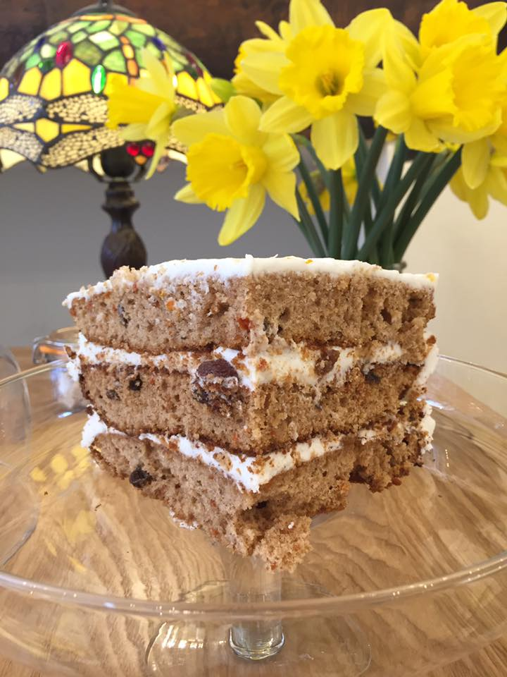 Yum Yum locally made Carrot Cake  - take away or eat in x https://t.co/bNo2IlQiBS