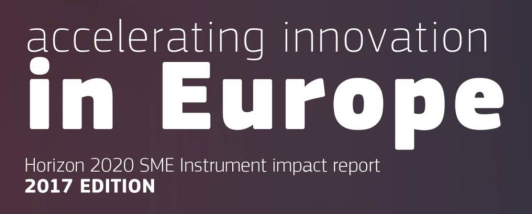 EASME releases the first impact report on the 2457 #SMEinstrument recipients. Access the full report at https://t.co/KDQLN6NToN https://t.co/Wu1G5OJVVn