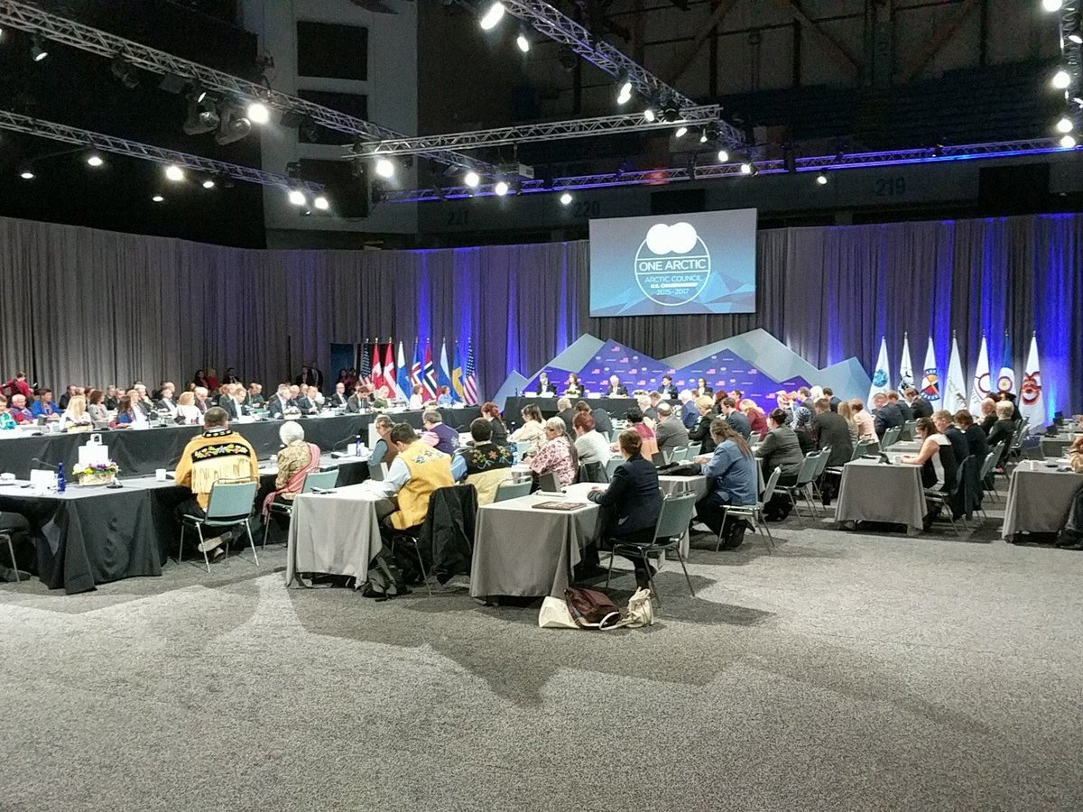 Starting now – The #ArcticCouncil Ministerial Meeting, in Fairbanks, Alaska. Live Stream: state.gov