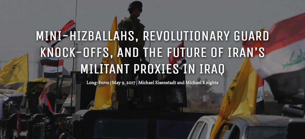 Excellent, if very long, article:  - Mini-#Hezbollahs, IRGC Knock-offs & the Future of Iran's Proxies in :  #Iraqhttps://t.co/URjIcVUfk6