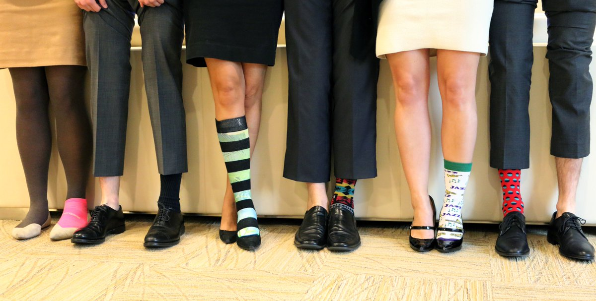 On #NationalMissingChildrensDay, the Institute team's supports missing kids and their families #RockOneSock #EndTrafficking #tbt