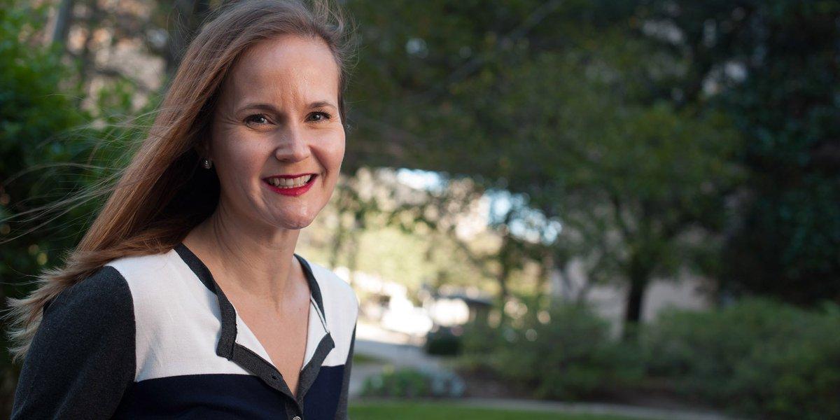 Image for the Tweet beginning: Ocular #melanoma survivor Britta Fortson