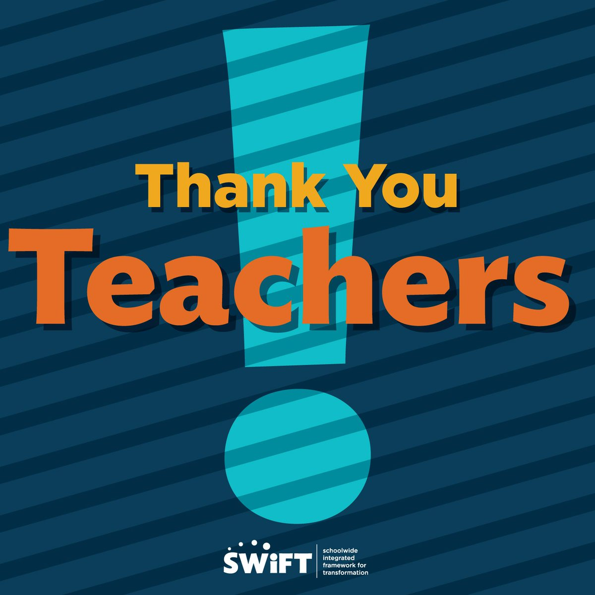 SWIFT honors teachers during Teacher Appreciation Week! We hope you will enjoy this video! bit.ly/2ppbTFb