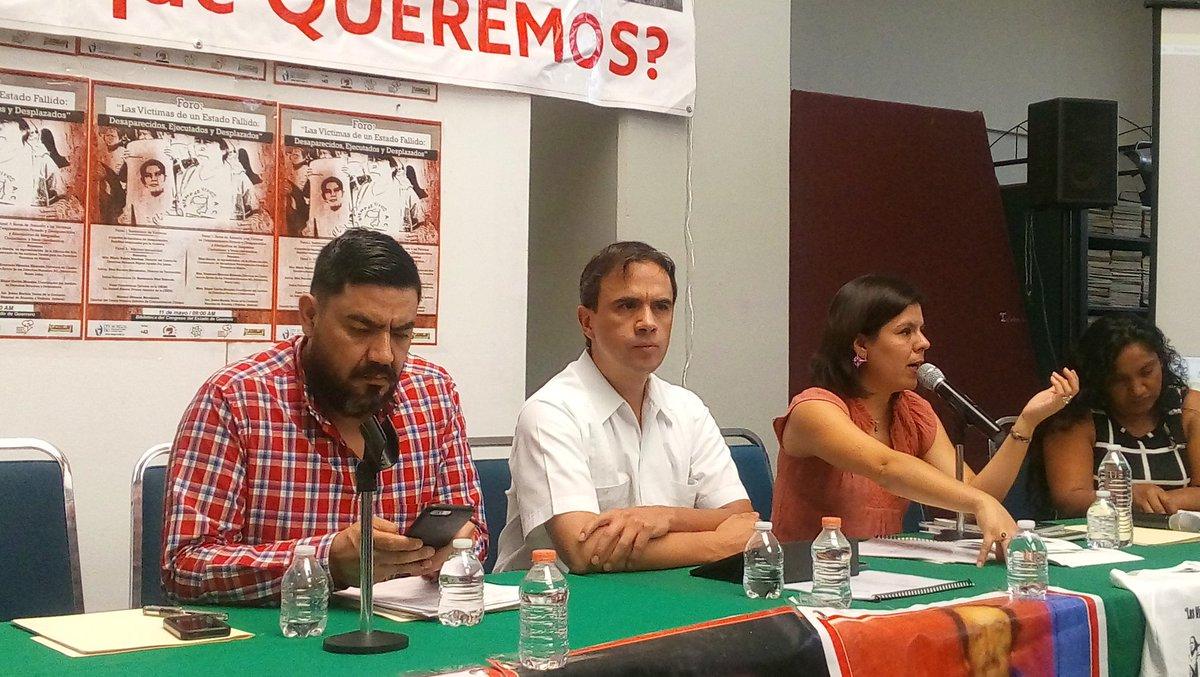 PARTICIPA CADHAC EN FORO DE DESAPARECIDOS EN GUERRERO