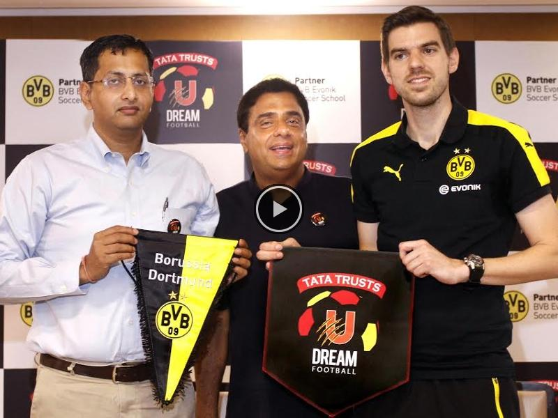Tata #Trusts U #Dream #Football ties up with #Bundesliga side #Borussia #Dortmund    http:// wp.me/p67m4w-iKr  &nbsp;  <br>http://pic.twitter.com/BSSuLCDbcI