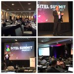 Great Navigating Digital Transformation @Sitel_WorldWide #SitelSummit awesome audience @SAPDigitalSvcs