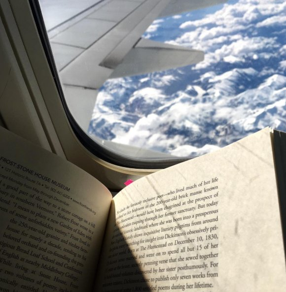 """goodreads on Twitter """"What s the last book you read on a plane"""
