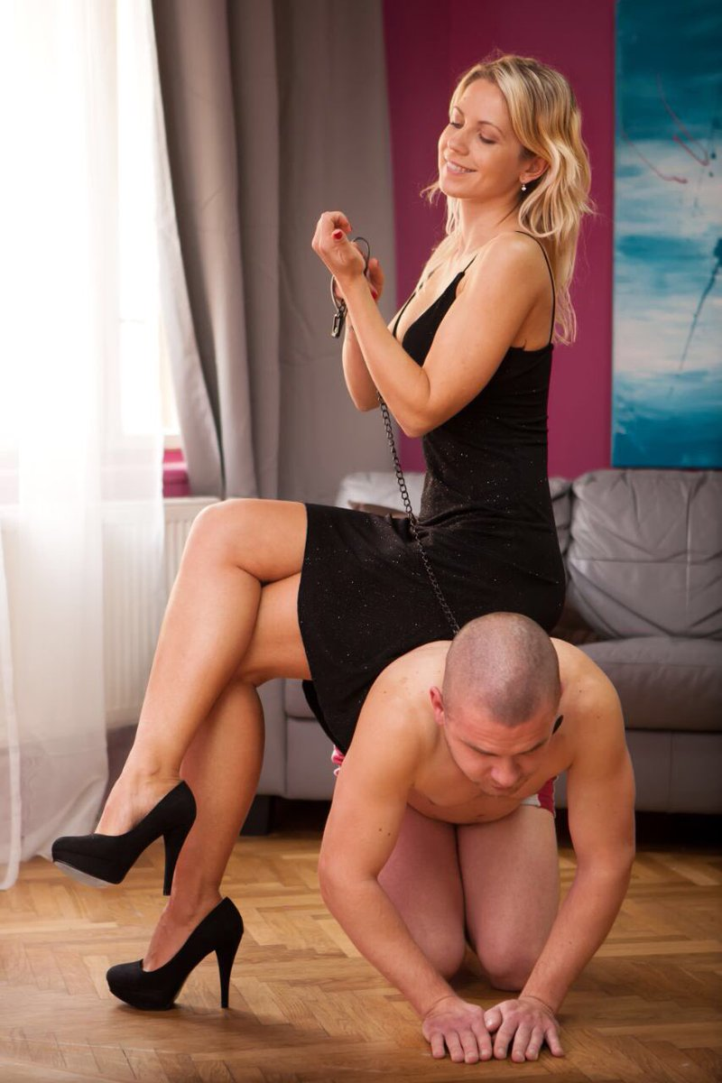 Mistress use lesbian furniture 5