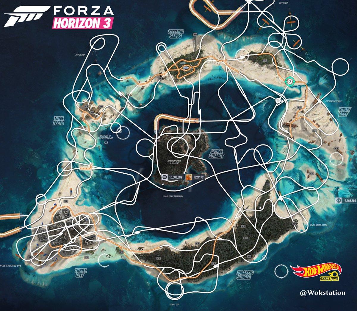 Bonus Hidden Cars Forza Horizon