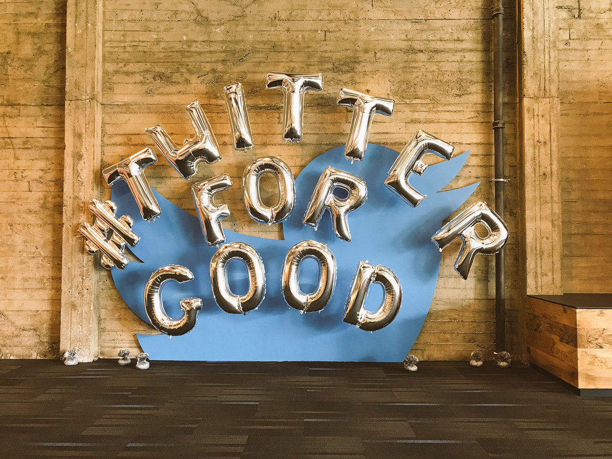 All the Twitter employees are getting excited for a day of volunteering tomorrow! #TwitterForGood https://t.co/y3Zss5X0Ux