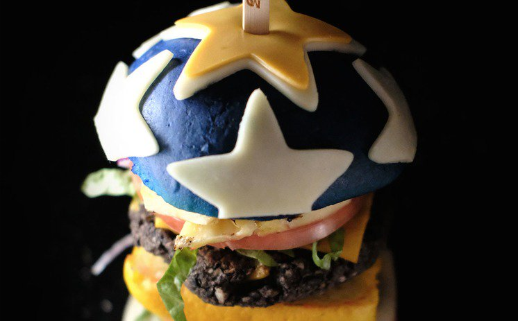 Wonder Woman burger from Tampa captivates the Internet with its Amazonian physique