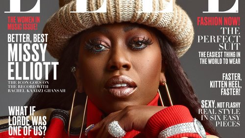 Missy Elliott covers Elle, shares her fearless approach to being a...  http:// ln.is/1dXD7     by #bad_dominicana via @c0nveypic.twitter.com/3pYmKzxmP7