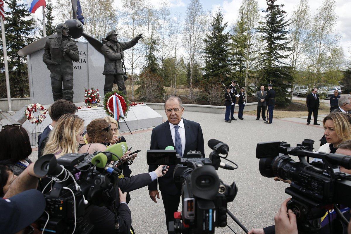 фото министерская встреча на аляске
