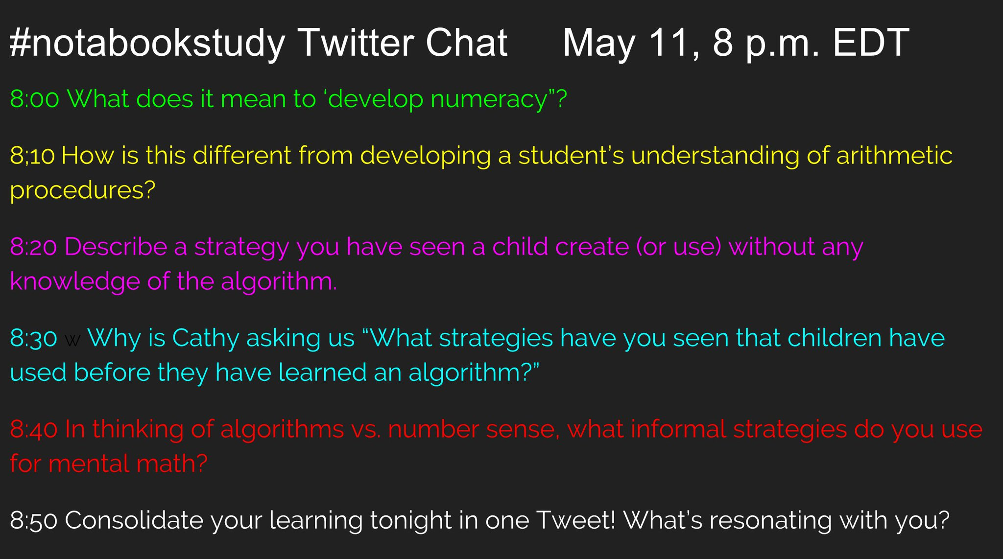 Welcome to the #notabookstudy Twitter chat! Tonight we're looking at Chapter 5  https://t.co/zbTsvxArNG #Onted https://t.co/AgTmLWBR5M