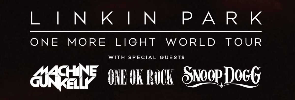 Linkin Park One More Light Tour Us