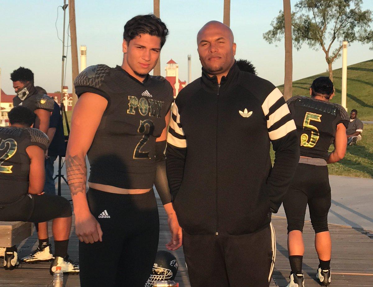 Matt Corral (left) - Class of 2018 QB (Photo from Matt Corral/Twitter)