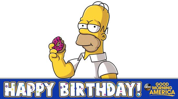 Happy birthday, Homer Simpson! Today marks character\s 61st birthday.