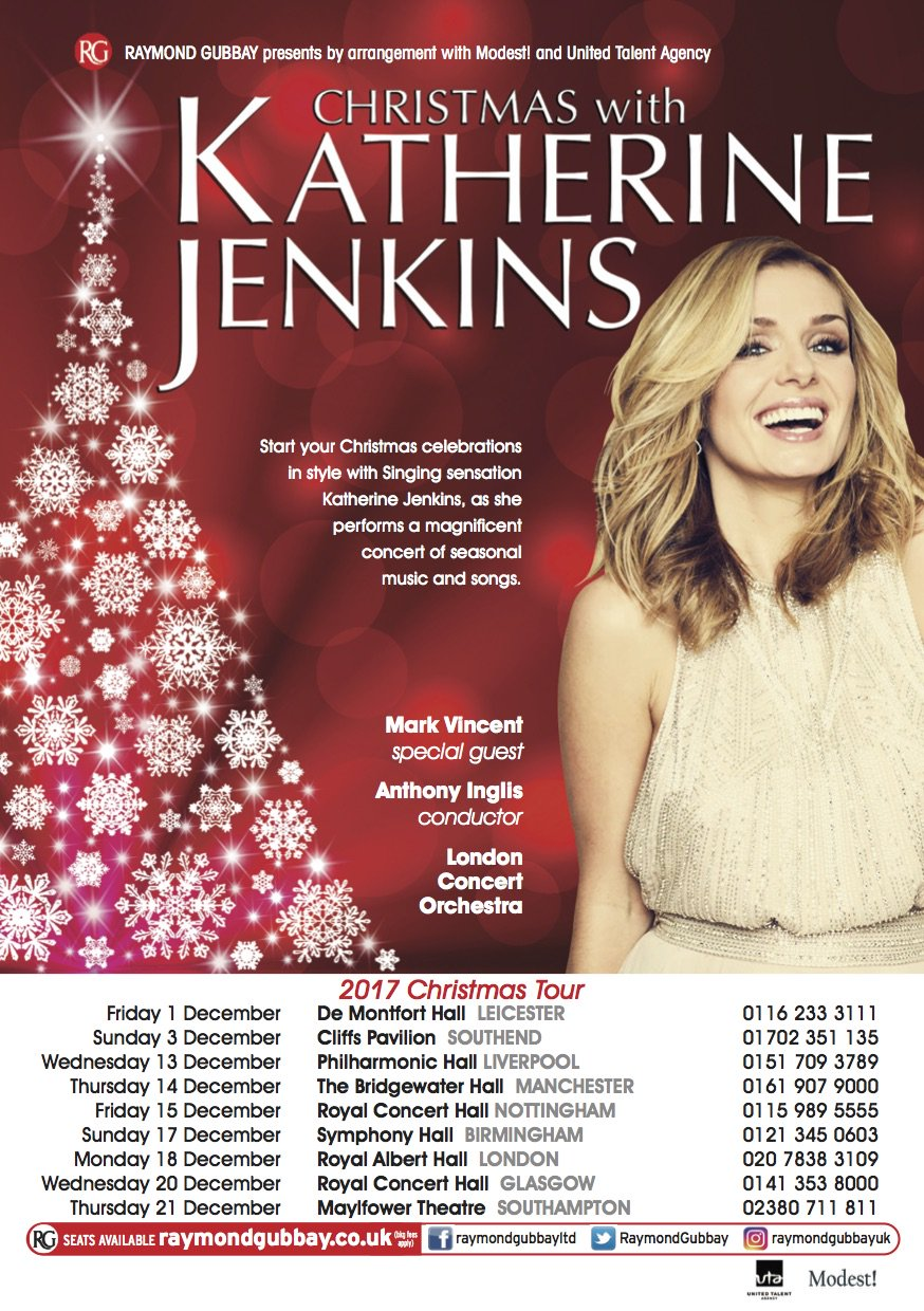 Tickets for my Christmas Concerts are on sale now! https://t.co/EVxks5eD6G https://t.co/QW9EC3WSHP