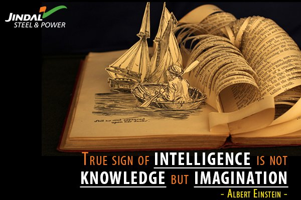 True sign of intelligence is not knowledge but imagination - Albert Ei...