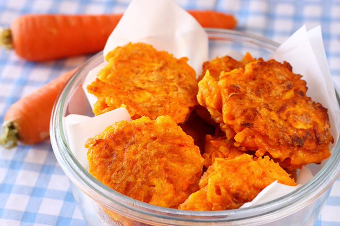 Slimming World Carrot Fritters In The Airfryer