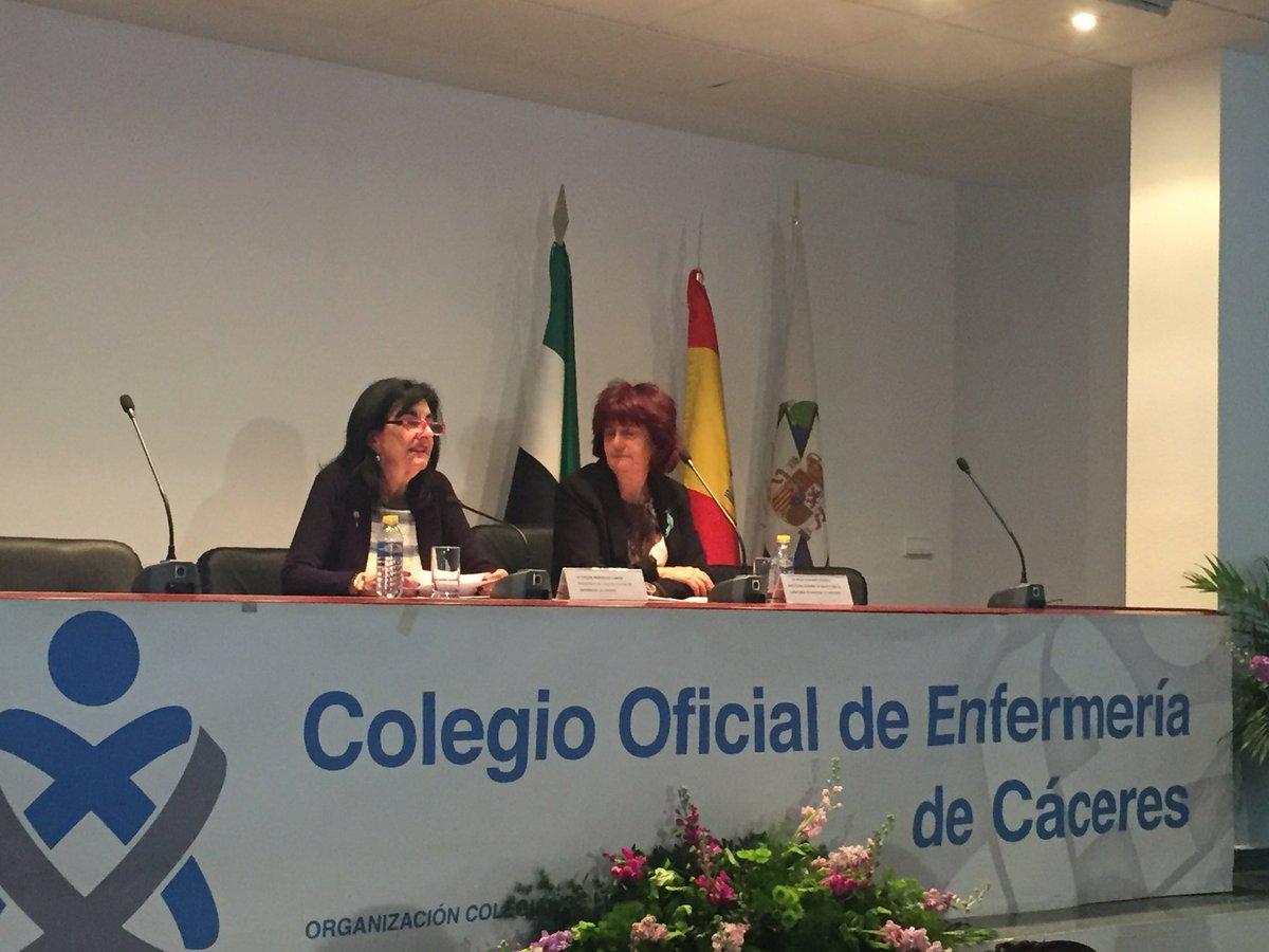 Comenzamos con los actos de celebración del #IND2017, con Pilar Guijarro Directora General de Salud Pública y nuestra Presidenta