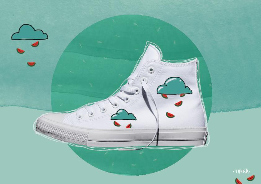 Get yor personalised pair of Converse