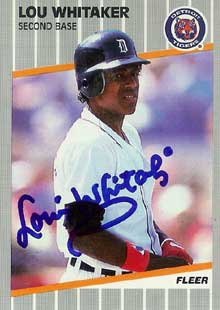 Happy 60th Birthday to should-be HOFer Lou Whitaker!!! (Jeez he\s 60?!?)