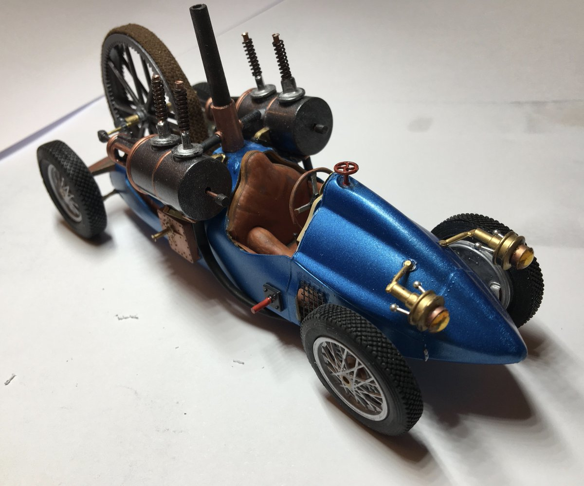 #Geek Awesome of the Day: 'Claudi's #Steampunk Emporium' #Car (Scale: 1:24) made by @MeisterMoose #SamaGeek