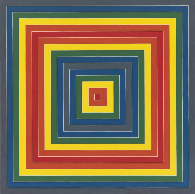 Happy Birthday to Frank Stella, born on this day in 1936: