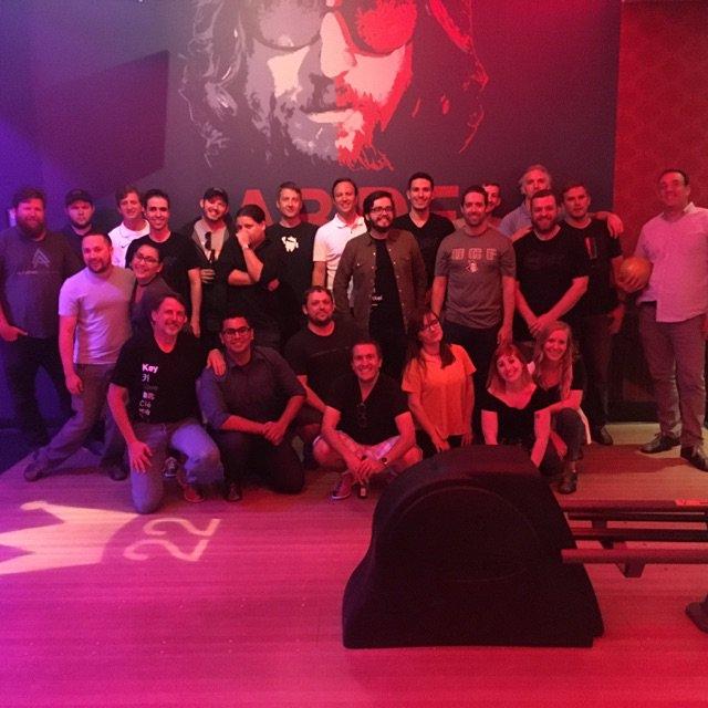 Team Building at Kings Bowling last night #unikey #teamoutings  #bowlingpic.twitter.com/avP1b1Sxc7