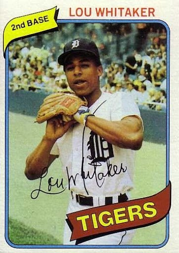Happy 60th birthday to Tigers great Lou Whitaker!   --1978 AL Rookie of the Year  --Five-time All-Star