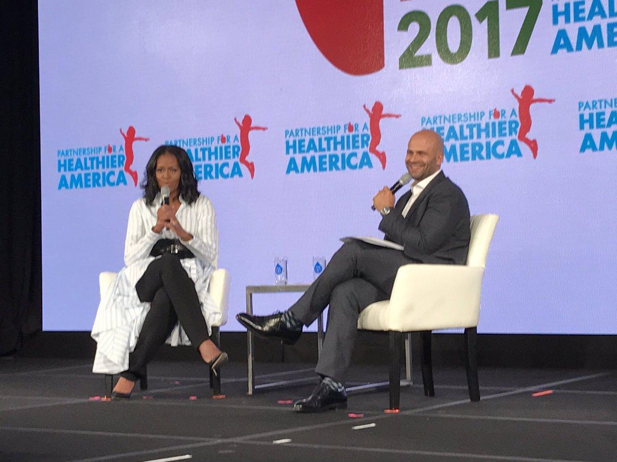 Michelle Obama criticizes Trump administration's school lunch policy